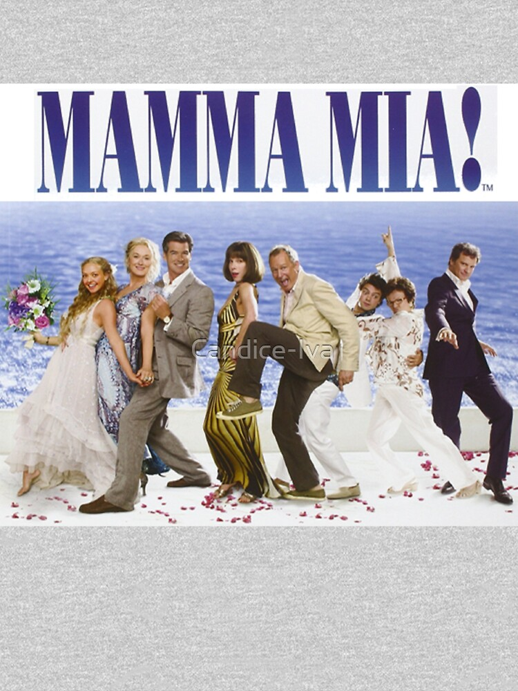 Mamma Mia Cast Poster by Candice-Iva
