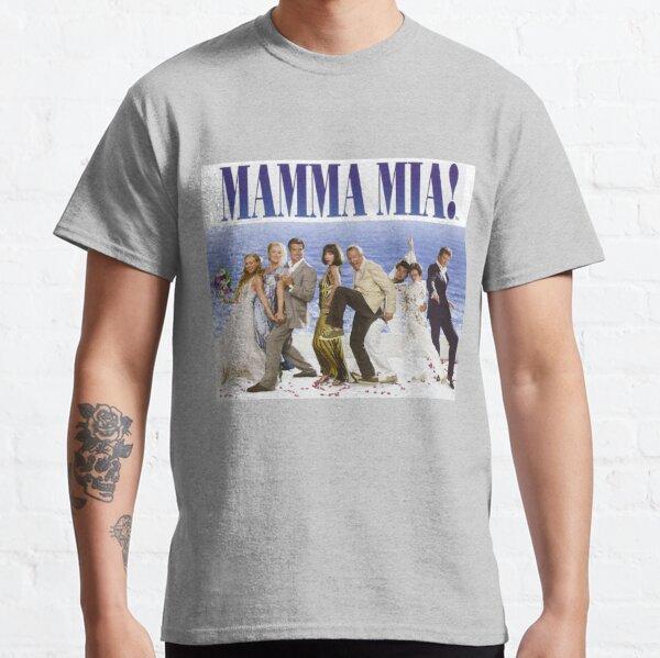 Póster de Mamma Mia Cast Camiseta clásica