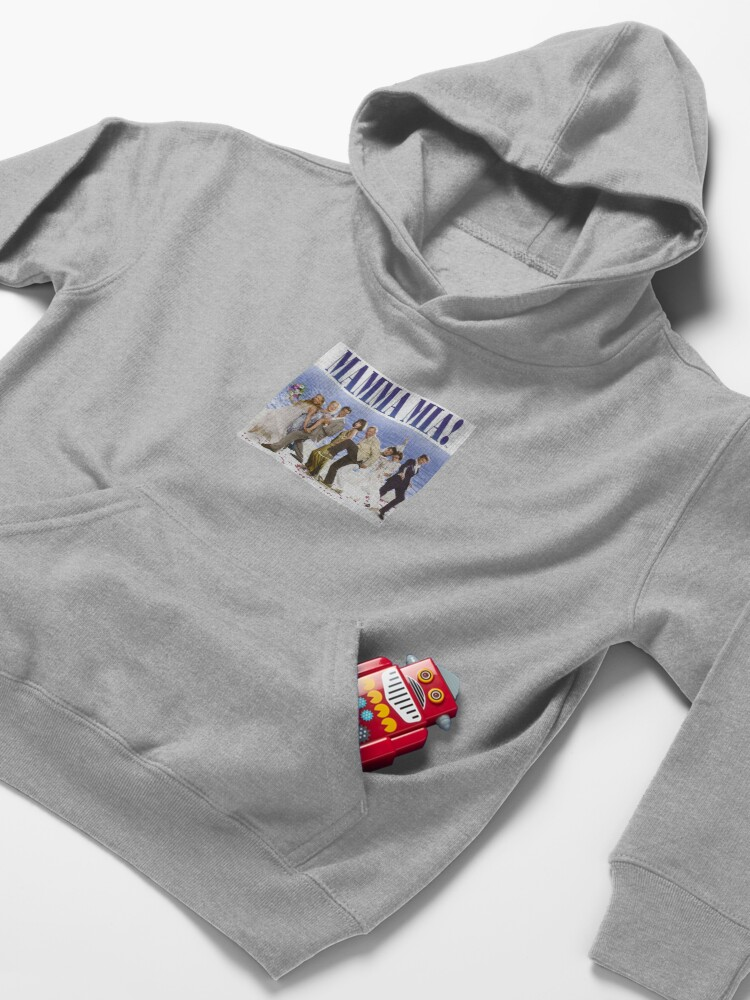 Alternate view of Mamma Mia Cast Poster Kids Pullover Hoodie