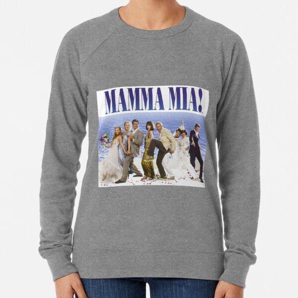 Mamma Mia Cast Poster Lightweight Sweatshirt