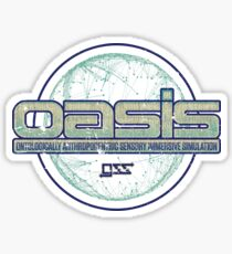 OASIS by Gregarious Simulation Systems (GSS) Sticker