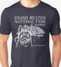 Grand Meaton National Park (White Design) T-Shirt