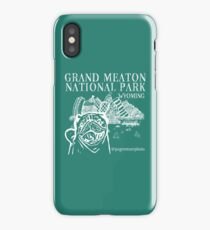Grand Meaton National Park (White Design) iPhone Case/Skin