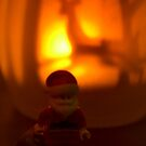 Santa and Deer by Shauna  Kosoris
