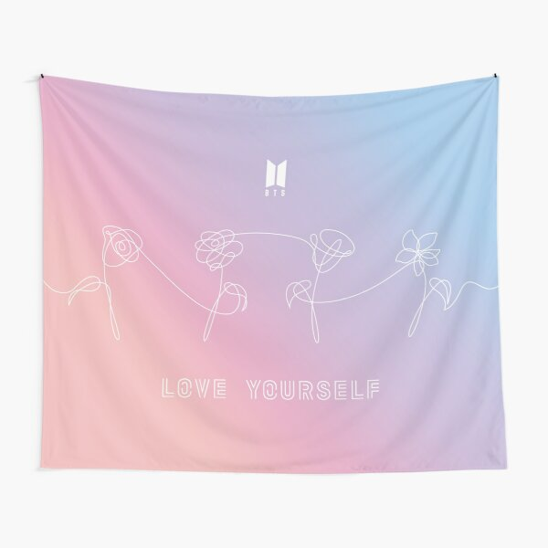BTS LOVE YOURSELF - PERFECT TAPESTRY Tapestry