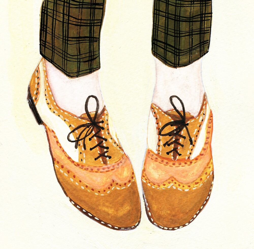 Two Tone Oxfords by allybdesign