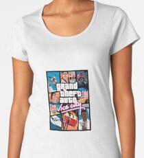 GTA - VICE CITY Women's Premium T-Shirt