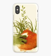 Fox Sleeping iPhone Case