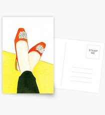 Put Your Feet Up Postcards