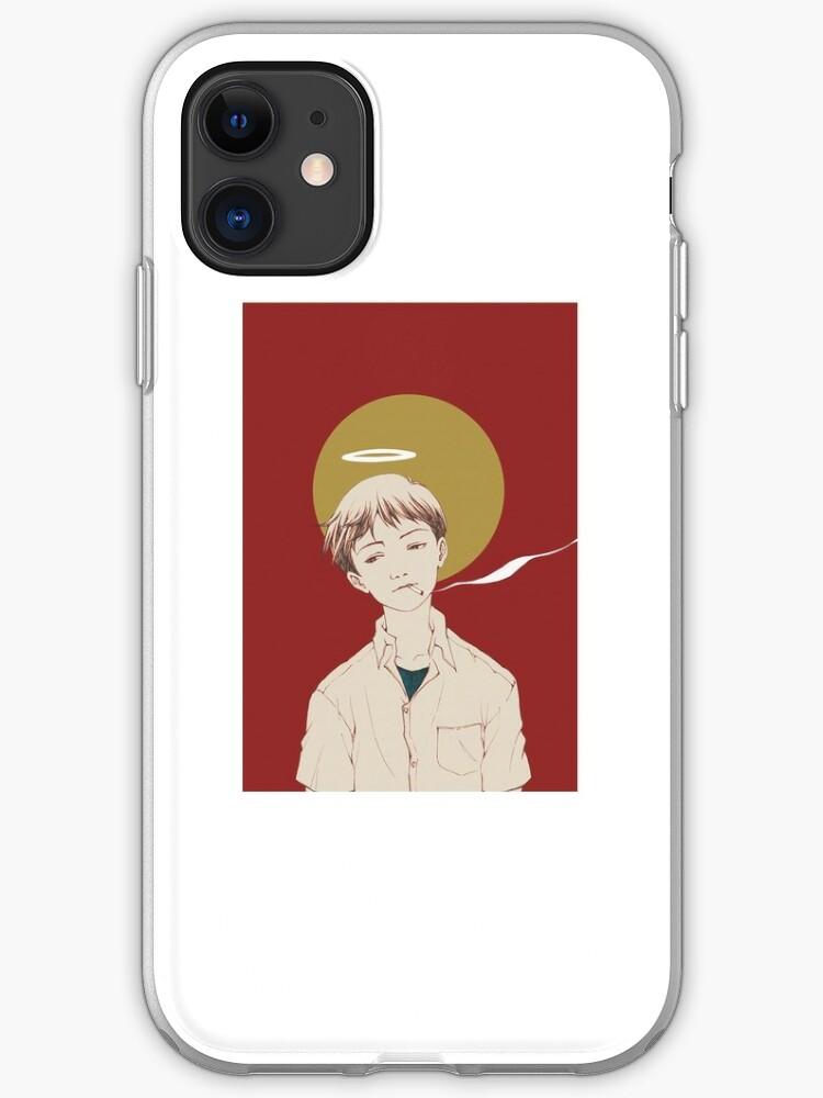 Shinji Ikari evangelion   iPhone Case & Cover