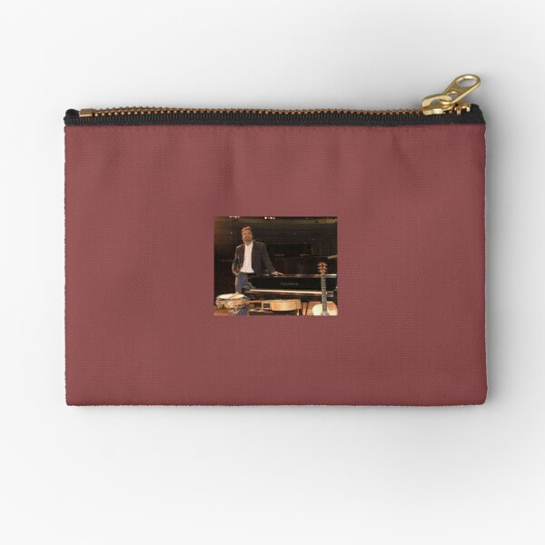 Tony DuPuis Theater Stage Pic Zipper Pouch