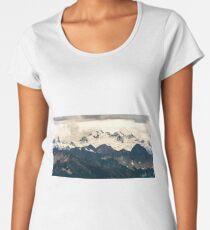 Glaciers in the North Cascades Women's Premium T-Shirt
