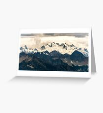 Glaciers in the North Cascades Greeting Card