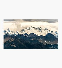 Glaciers in the North Cascades Photographic Print