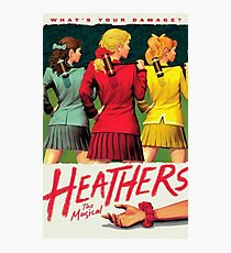 heathers the musical Photographic Print