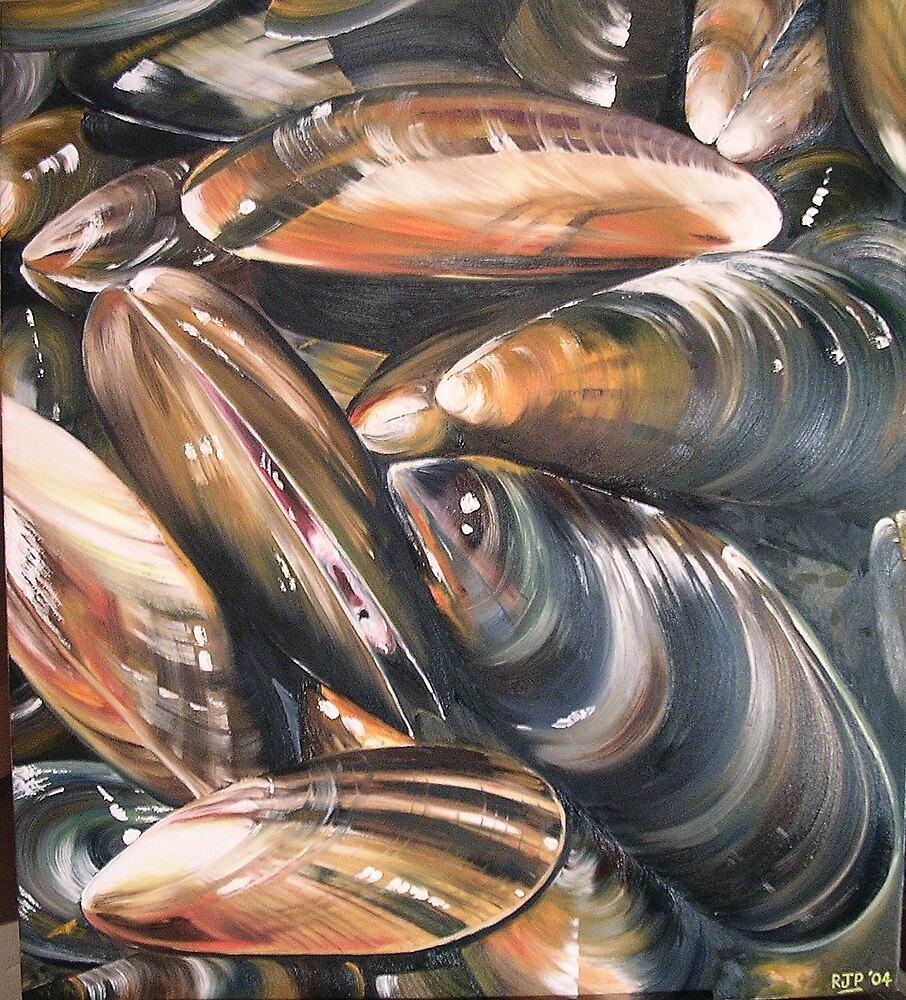 Mussels by Robin Parker