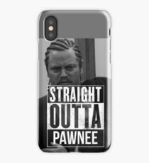 Parks and Recreation Straight Outta Pawnee iPhone Case/Skin