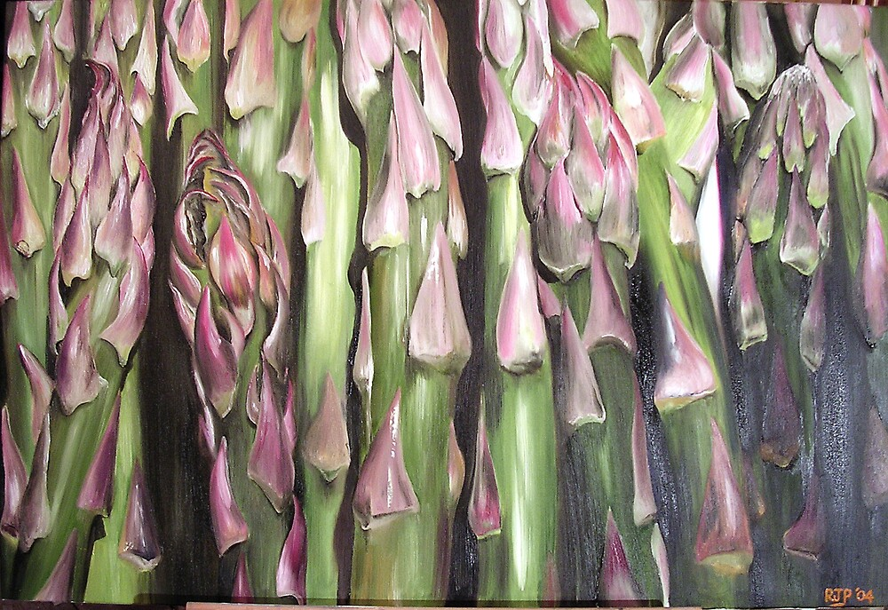 Asparagus by Robin Parker