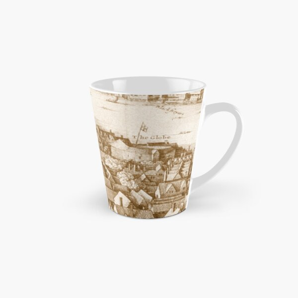 Hollar's Globe Theatre Longview London Tall Mug