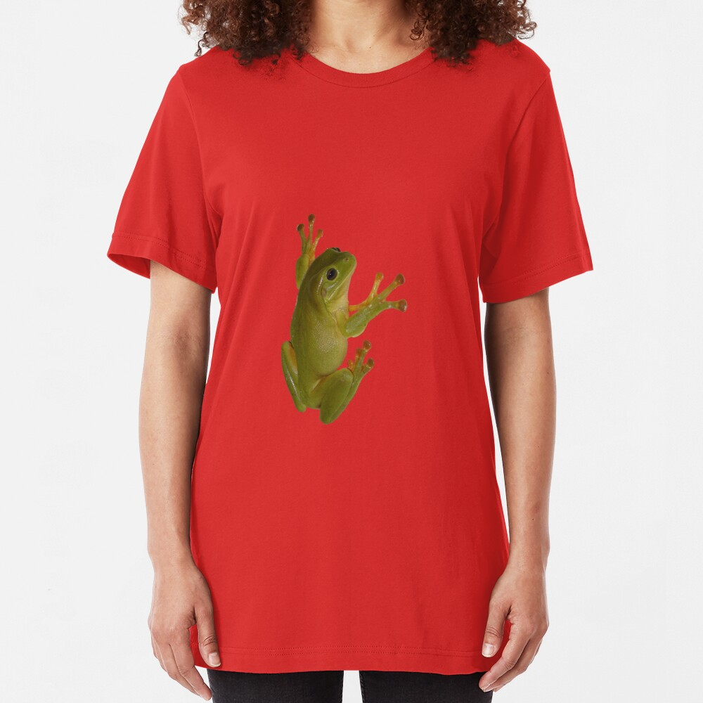 Frog gotch ya! Slim Fit T-Shirt