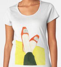 Put Your Feet Up Women's Premium T-Shirt