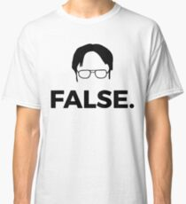 dwight schrute - the fictional character Classic T-Shirt