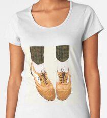 Two Tone Oxfords Women's Premium T-Shirt