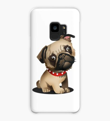 Pug pup Case/Skin for Samsung Galaxy
