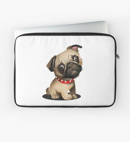 Pug pup Laptop Sleeve