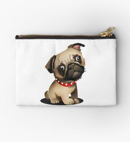 Pug pup Studio Pouch