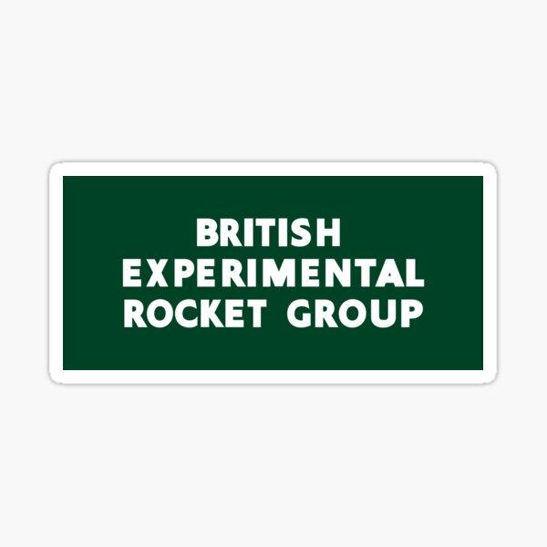 British Experimental Rocket Group (white) Sticker