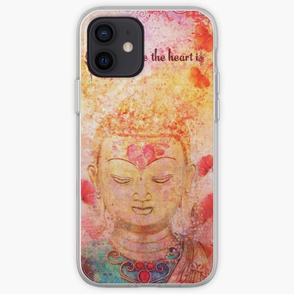 om is where the heart is iPhone Soft Case