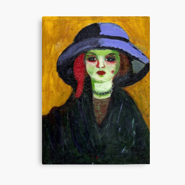 Dolly (After Kees Van Dongen) Canvas Print