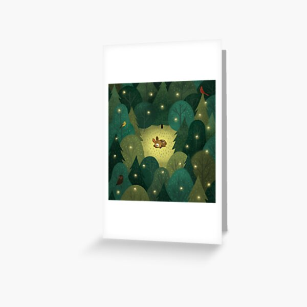 Baby Fawn Greeting Card