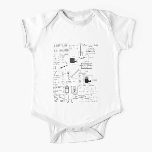 General Physics #General #Physics #GeneralPhysics Short Sleeve Baby One-Piece