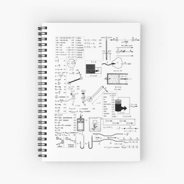 General Physics #General #Physics #GeneralPhysics Spiral Notebook