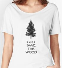 God Sae the Wood Women's Relaxed Fit T-Shirt