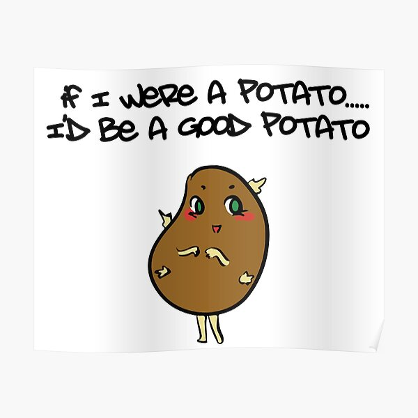 POSTER It/'s a Potatoe from Idahoe Dan Quayle