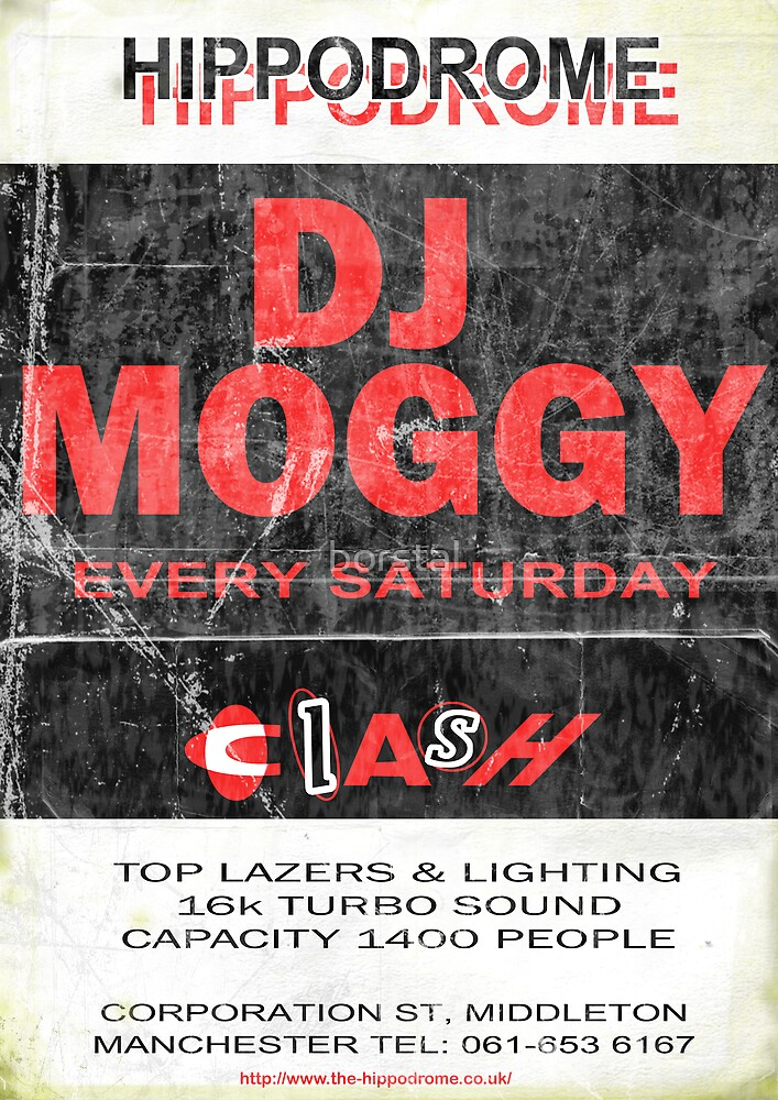 DJ Moggy Hippodrome by borstal