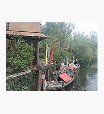 Animal Kingdom Boat Photographic Print