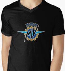 MV Agusta Logo Merchandise Men's V-Neck T-Shirt