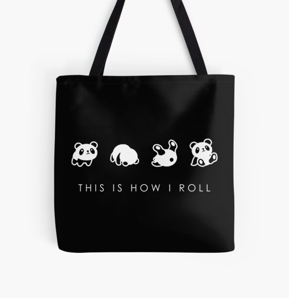 THIS IS HOW I ROLL All Over Print Tote Bag