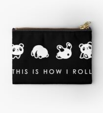 THIS IS HOW I ROLL Zipper Pouch