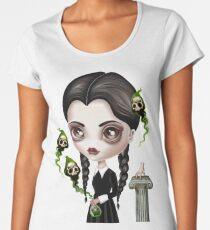 Be Afraid (Wednesday) Women's Premium T-Shirt