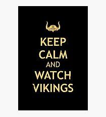 vikings Photographic Print