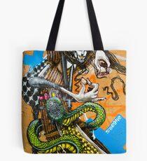 el arte de la calle Tote Bag