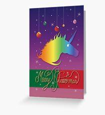 Merry Queermas - Version 1 Greeting Card