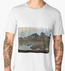 Landscape vintage Men's Premium T-Shirt