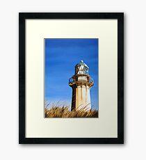 Windswept Lighthouse Framed Print