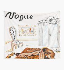 Vintage Vogue Januar - 1936 Wandbehang